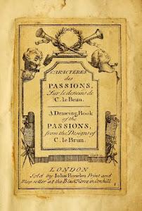 Caracteres des passions, sur le desseins de Charles Le Brun