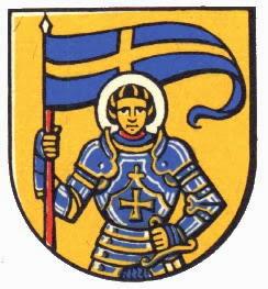 Chevalier à la bannière d'azur St-moritz