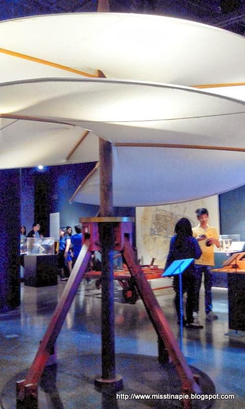 Da Vinci Exhibit @ Mind Museum (9.21.2013)