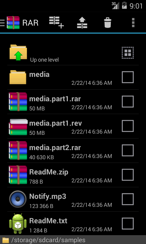 File Manager RAR for Android