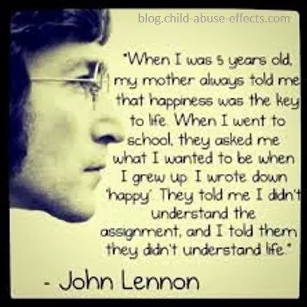 Happiness and Life by John Lennon