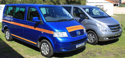 Percy Tours luxury minibuses, Hermanus