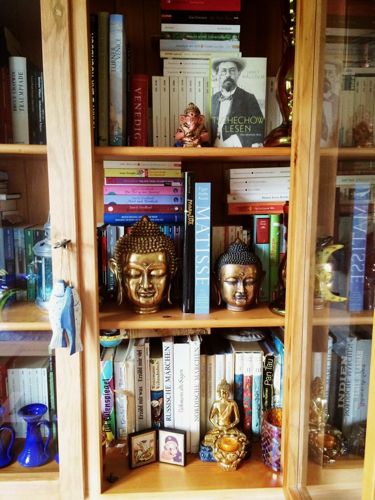 bohemian cupboard decoration