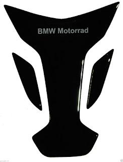 Paraserbatoio resinato BMW nero BIG SIZE TANK PAD PROTECTIVE wings