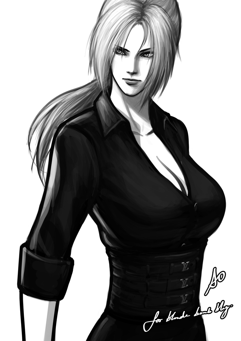 Tekken Nina Accuracy0 artwork drawing art