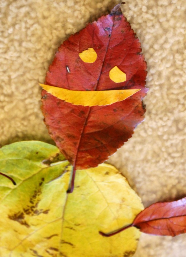 """Leaf Man"" Fall Craft:  Child at Heart"