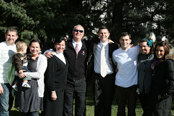 Family picture right before getting dropped off at the MTC