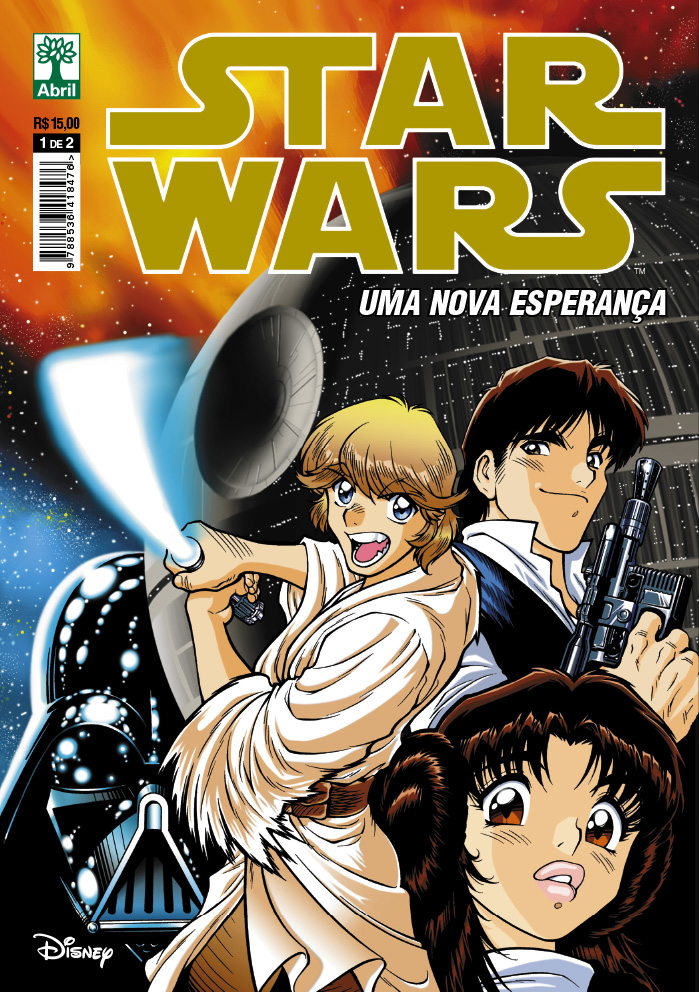 [Top 7] - Disney Manga StarWars%2Bc01