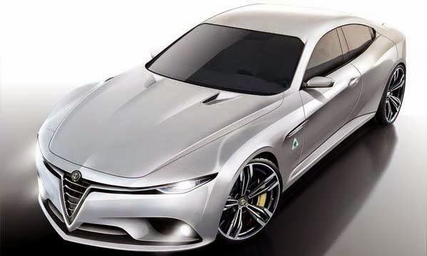 2016 New Alfa Romeo Giulia Concept