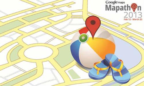 Google announces Mapathon 2013 contest
