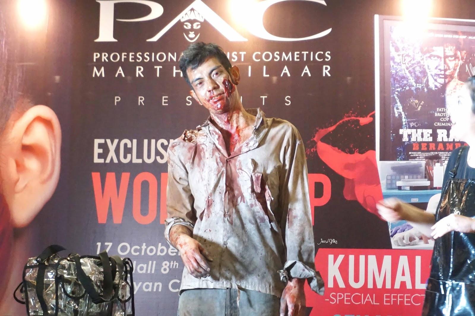 pac, indonesia, makeup, face painting, halloween, makeup, halloween makeup,