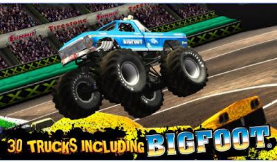 Game Balapan Mobil Monster Android Truck Destruction MOD APK