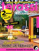 Meidän mökki esittelyssä Terassi-lehdessä 5/2015