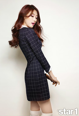 Hyuna Nine Muses Star1 Magazine April Issue 2015