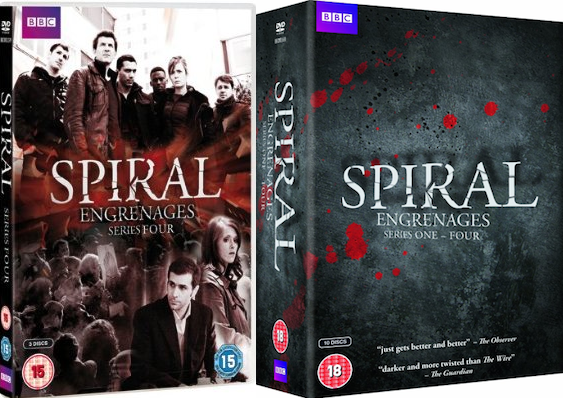 Spiral - Season 4 - UK DVD release date and cover