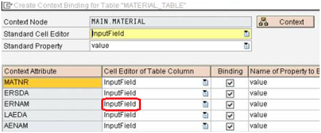 editable table in web dynpro