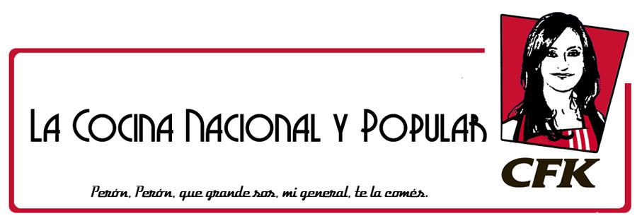 La cocina nacional y popular la golosina nac pop for La cocina popular