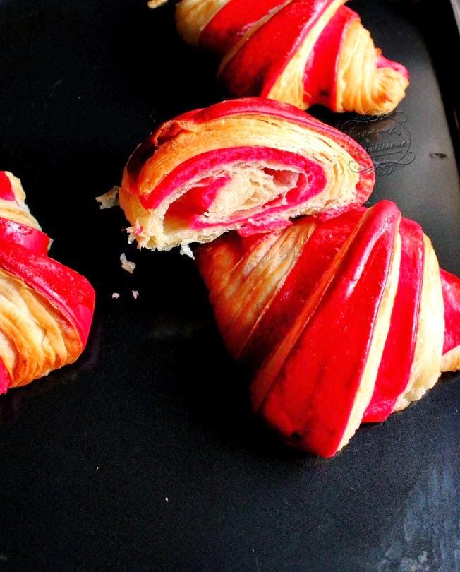croissants couleur