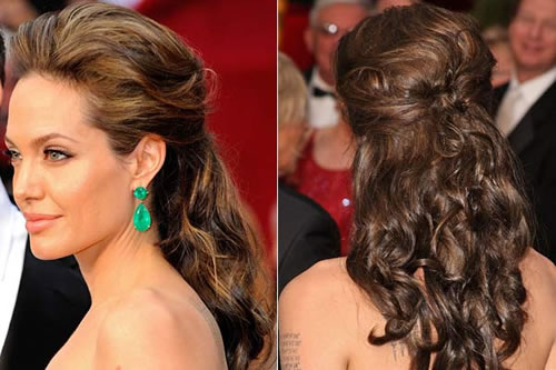 Penteados para formatura com cabelo médio