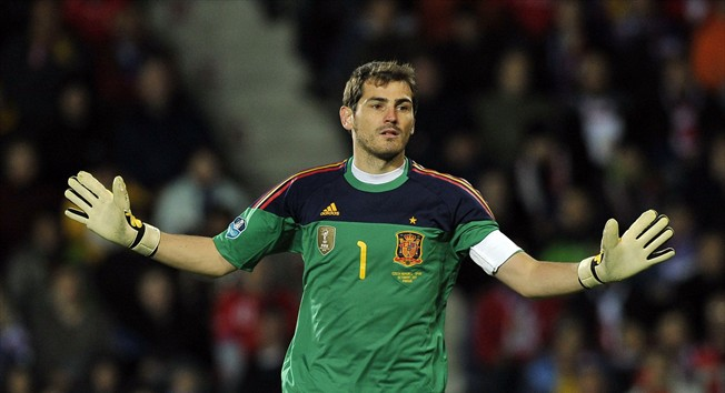 Iker Casillas Spain Wallpaper  2012  Wallpaper