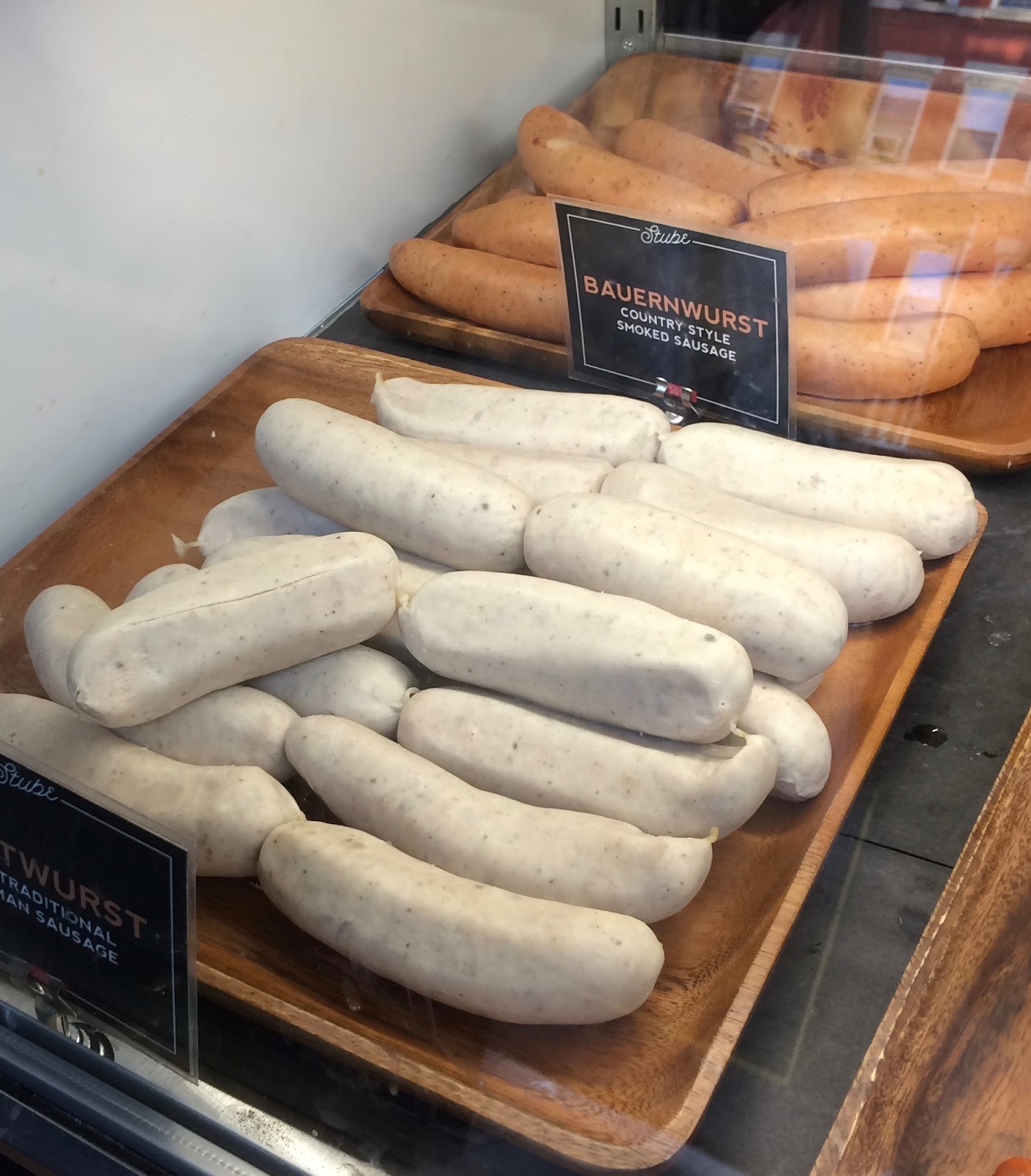 Culinary Types: Schaller\'s Stube - For Better or Wurst