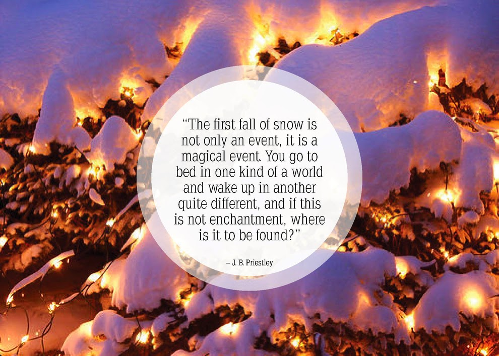 Magical snowfall event quote of 2015