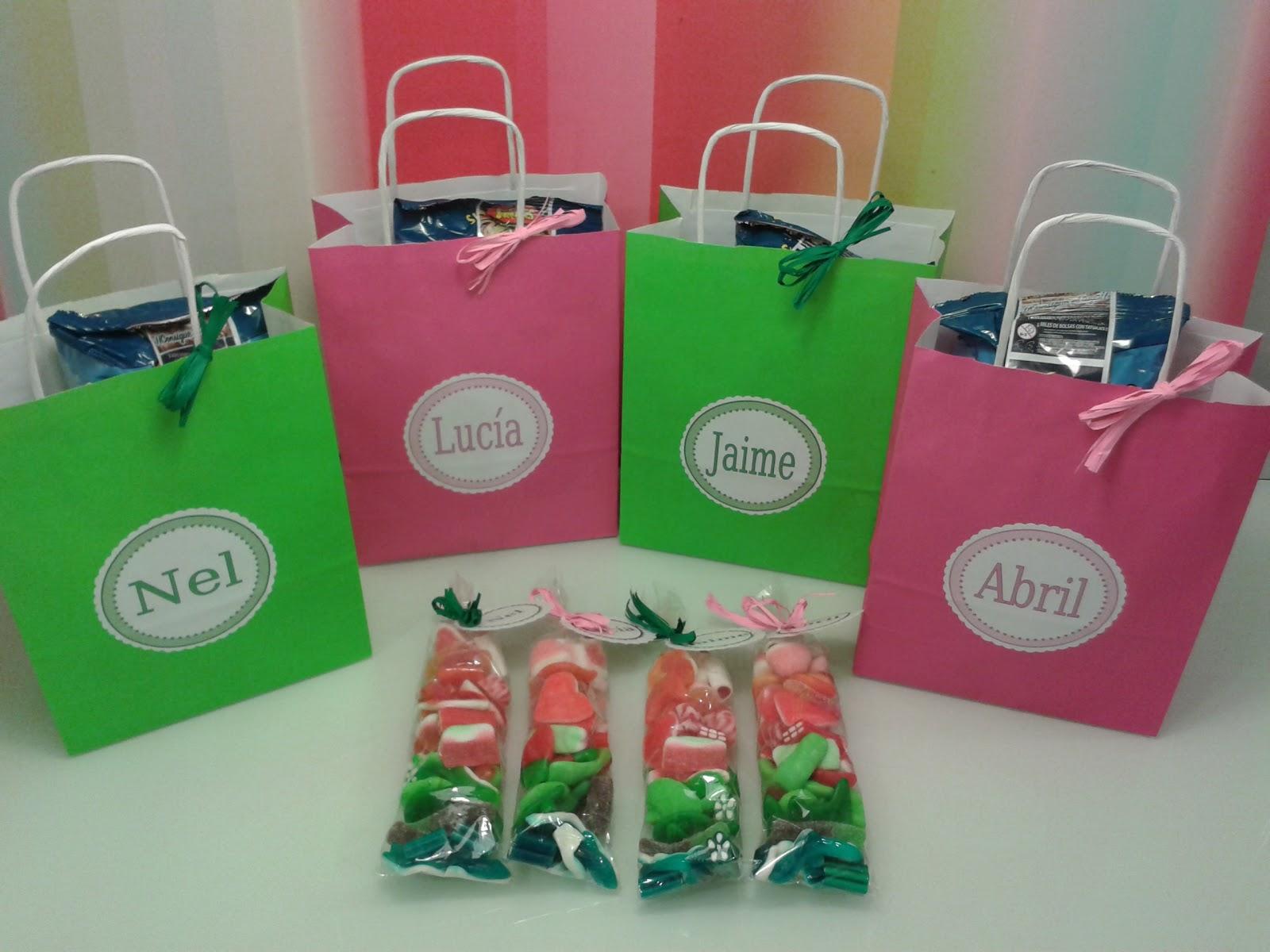 Chuchedetalles pamplona bolsas personalizadas de chuches - Bolsas de regalo personalizadas ...