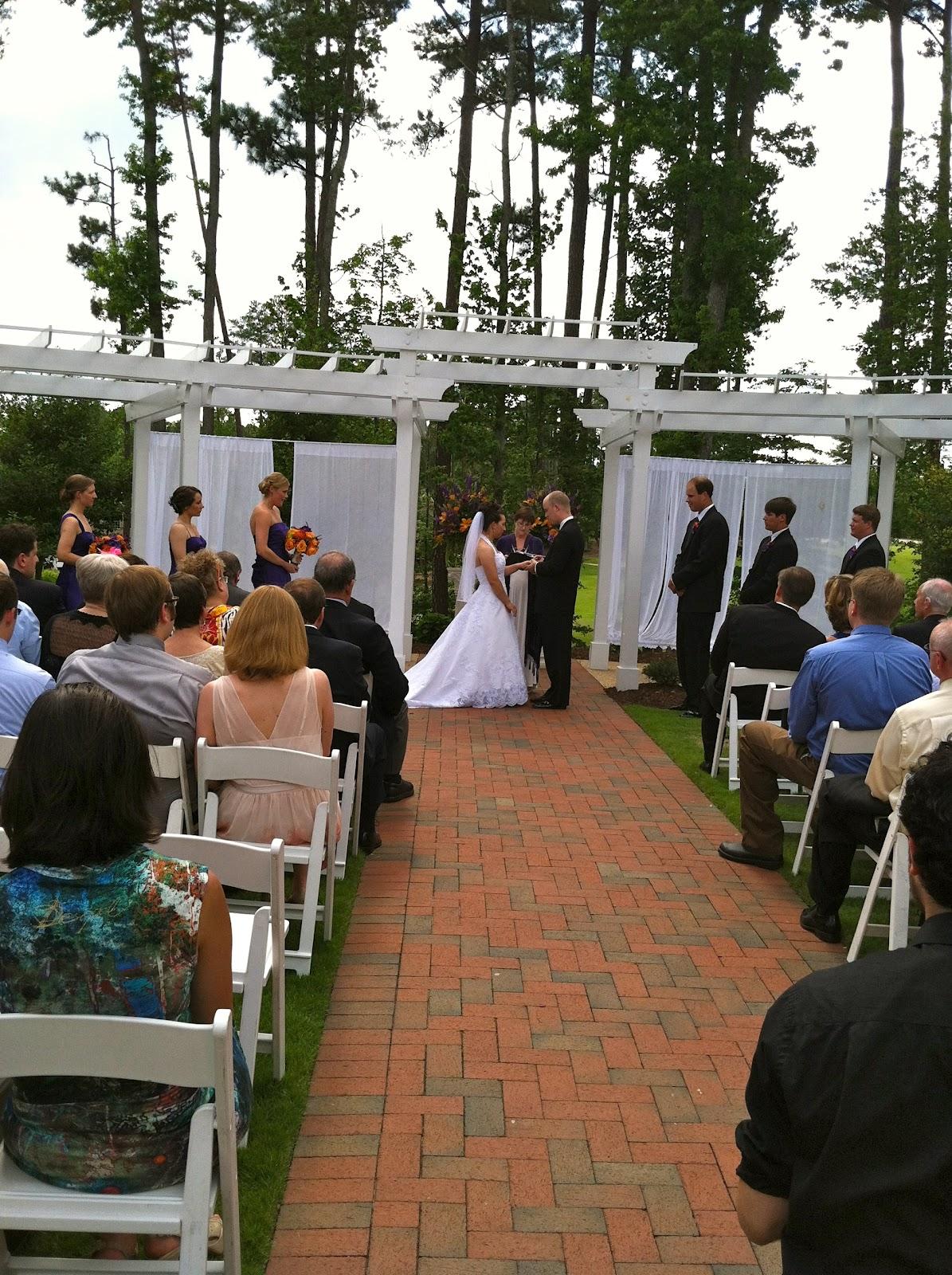 Raleigh Wedding Blog: Wedding Bells Ring for Amanda and TJ at Brier ...