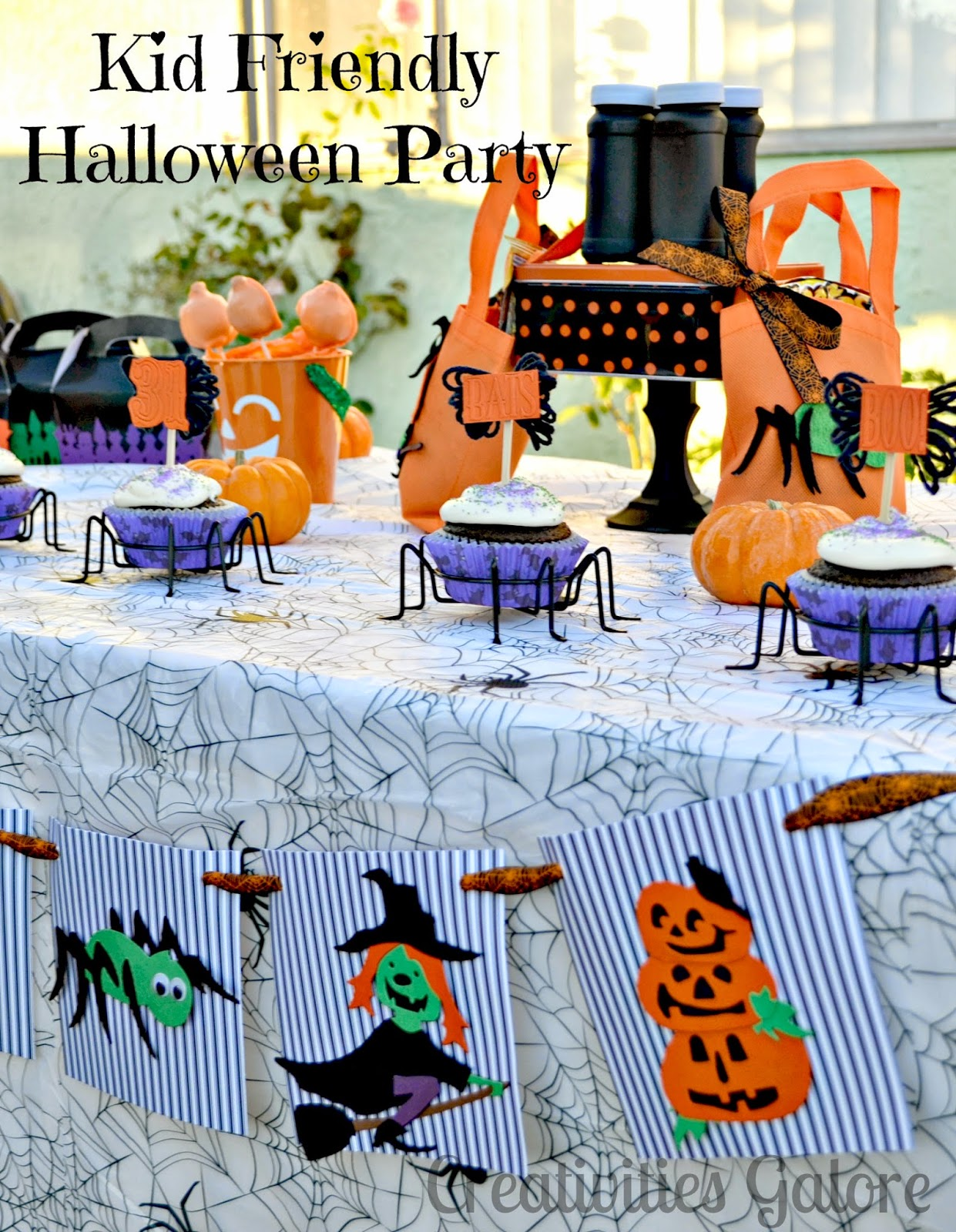 Creativities Galore: Kid Friendly Halloween Party