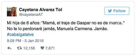 el villano arrinconado, humor, chistes, reir, satira, Cayetana Alvarez de Toledo, Cabalgata Reyes, Manuela Carmena
