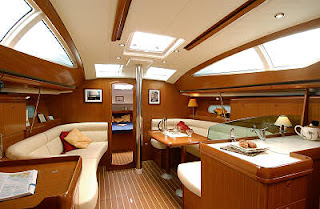Catalina Yacht Interior