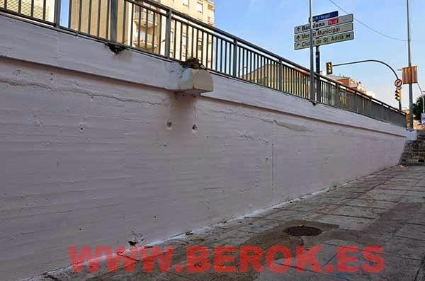 pared antes de pintar