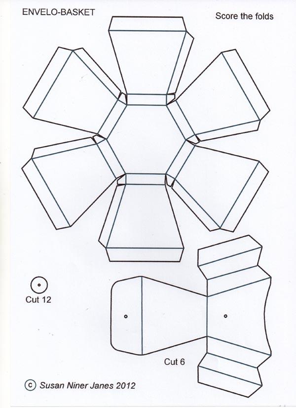 Order a paper basket template