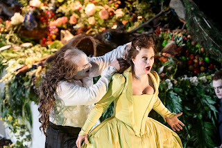 Christopher Purves, Lucy Crowe - Handel's Saul at Glyndebourne, photo Bill Cooper