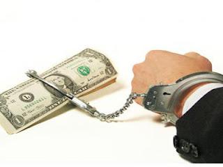 prisão, dinheiro