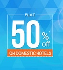 Hotel Booking 50% off