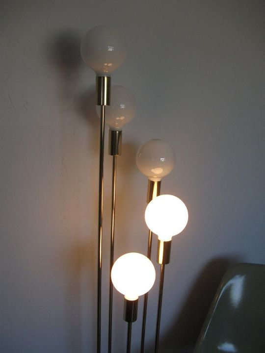 Mid century mo pho for sale by mopho brass globe floor for 9 foot floor lamp