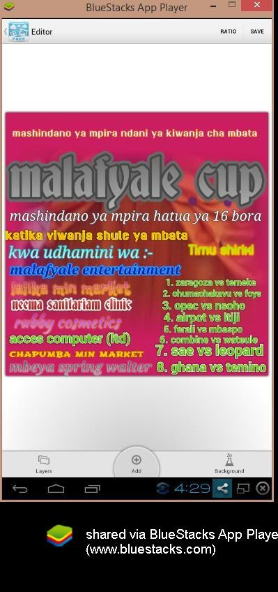 MALAFYALE CUP KATIKA  KIWANJA CHA MBTA