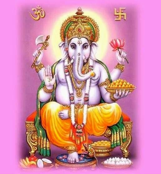 Ganesha Mantra Om Shreem Hreem Kleem