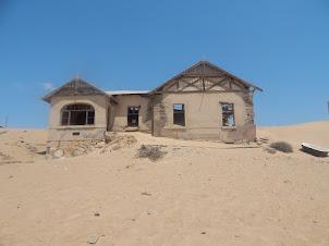 Cenário de Kolmanskop