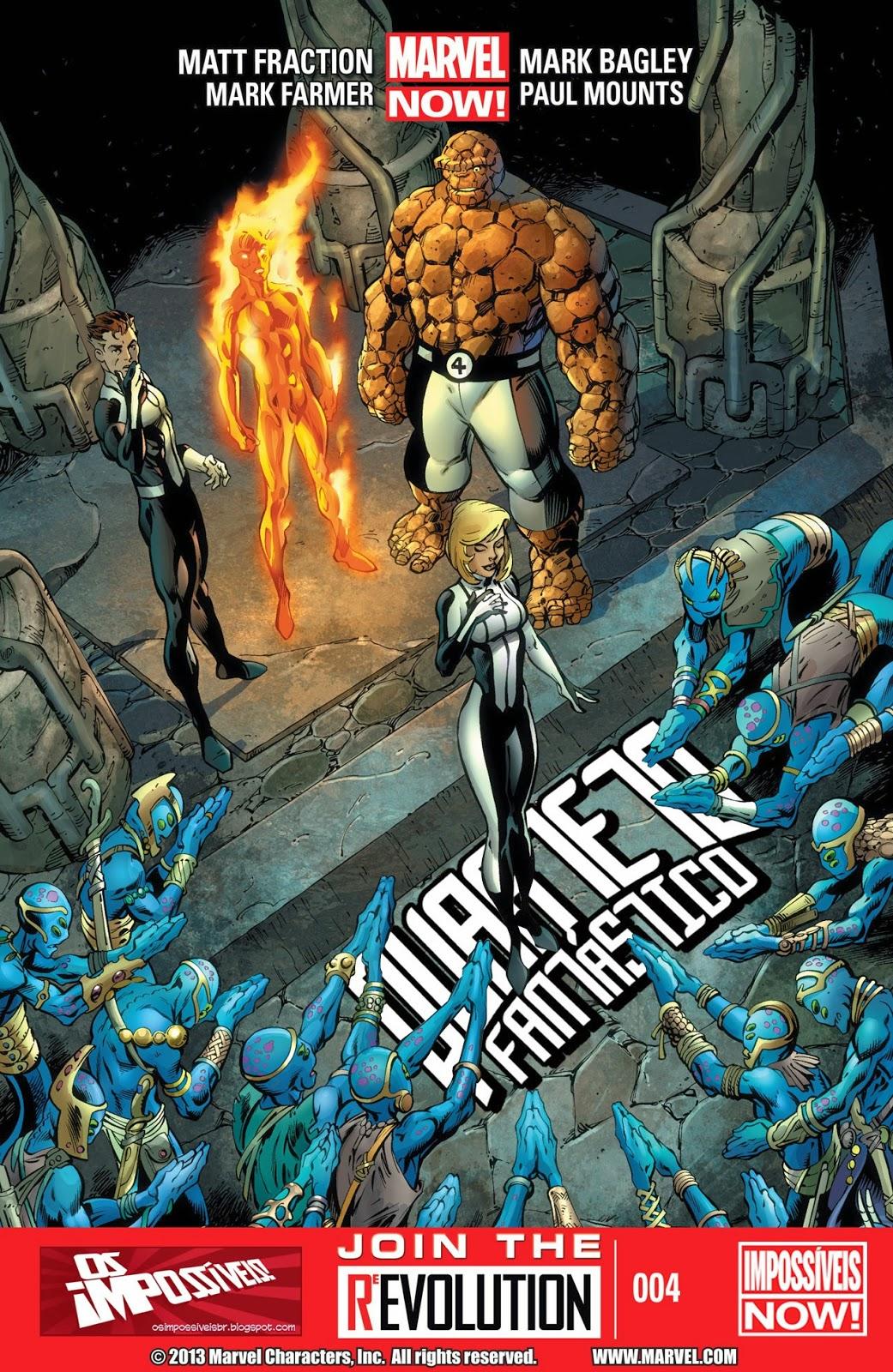Nova Marvel! Quarteto Fantástico #4