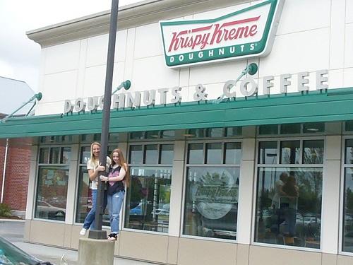 Krispy Kreme Seattle front