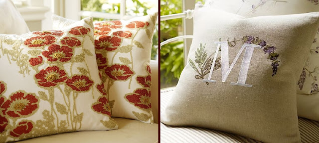 The Scrap Shoppe: Pottery Barn Knock-Off Pillows
