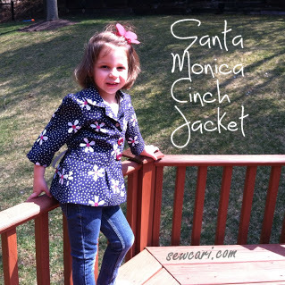 The Santa Monica Cinch Jacket