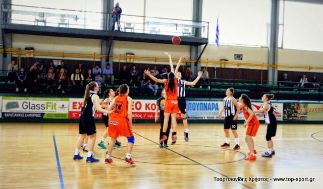 Φωτορεπορτάζ του Χρήστου Τσαρτσιανίδη (www.top-sport.gr) από τον αγώνα ΠΑΟΚ-Τιτάνες Δράμας για το Πανελλήνιο Νεανίδων