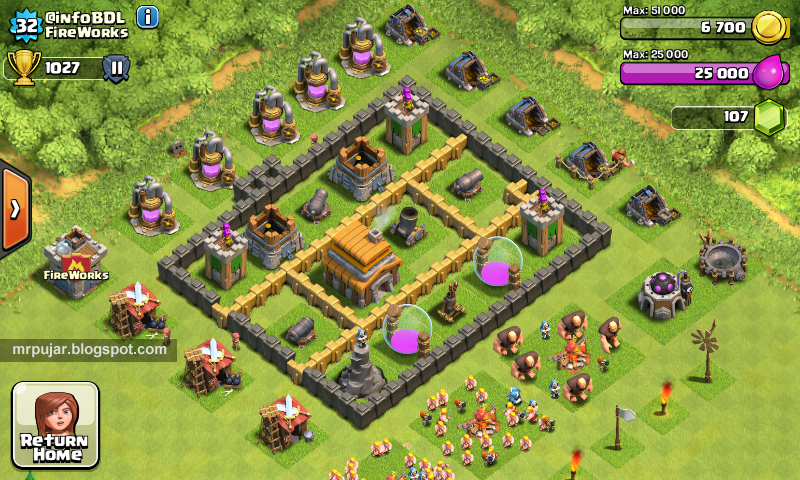 akun infoBDL game clash of clans