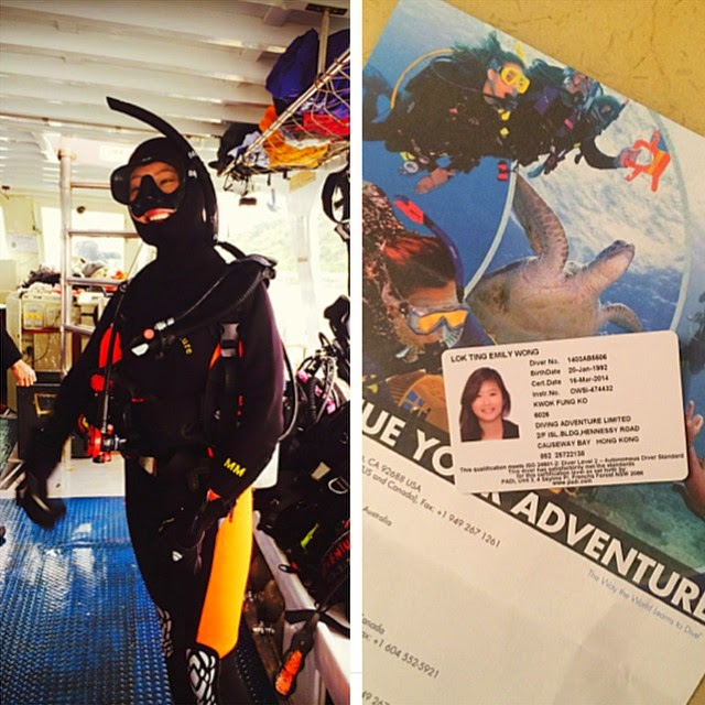 Scuba Diving in Hong Kong Open Diver