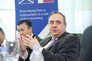 Alex Salmond in Qatar last November