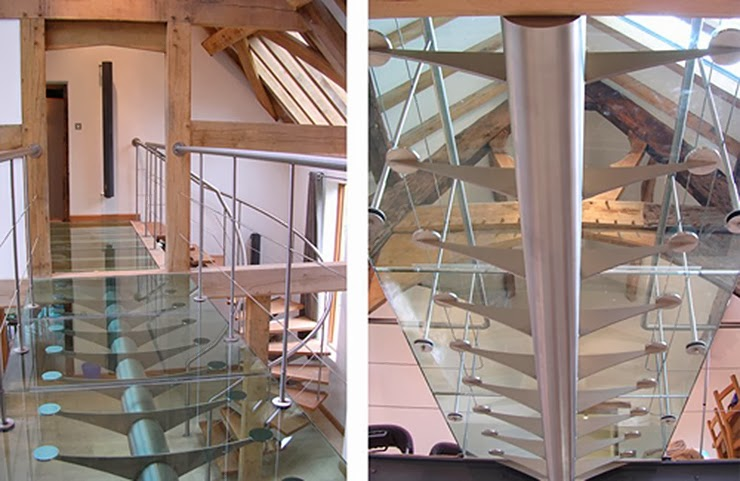 metal stairs by designer philip watts