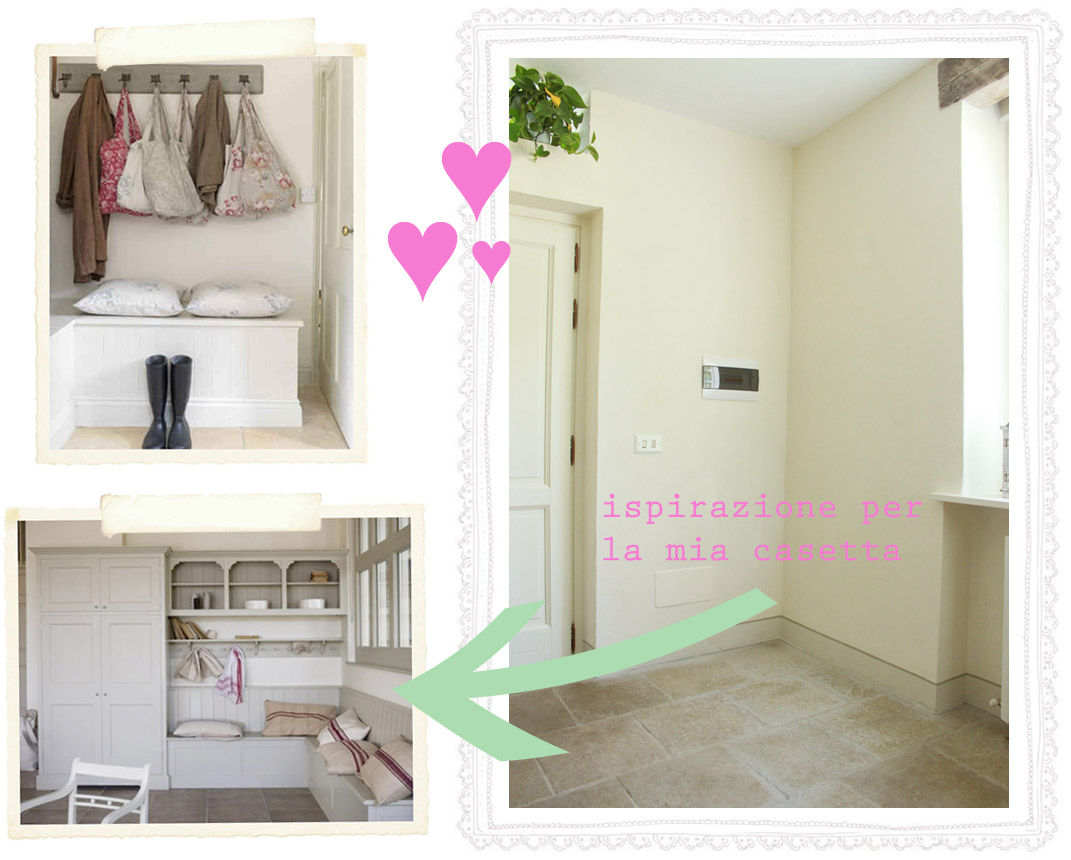 La mia mudroom shabby chic interiors for Ingresso shabby chic